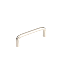 Builder's Choice D-Pull, Satin Nickel, 3 inches cc