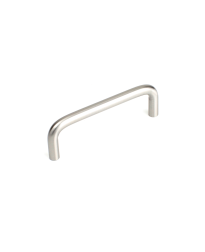 Builder's Choice D-Pull, Satin Nickel, 3 1/2 inches cc