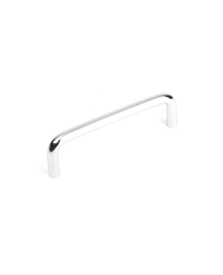 Builder's Choice D-Pull, Polished Chrome, 3 3/4 inches (96mm) cc