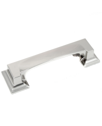 Park Avenue 3-Inch Cup Pull in Polished Nickel