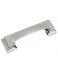 Park Avenue 3-Inch Cup Pull in Satin Nickel