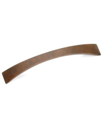 5-Inch Kama Contemporary Pull in Rust