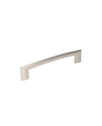 "Villon 6-5/16"" (160mm) cc Pull, Dull Satin Nickel"