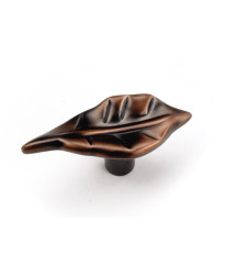 "2"" Windsor Leaf Knob - Venetian Bronze"