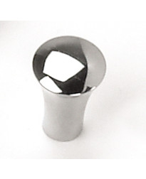 5/8-Inch Delano Tapered Cone Knob in Polished Chrome