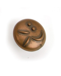 Graffiti Knob 1 3/8-Inch in Stonewashed Bronze