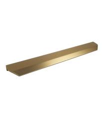 "Soft Glam 10-1/16"" (256mm) cc Profile Pull, Dark Brass"