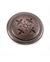 Cimarron Knob 1 1/4-Inch in Antique Copper