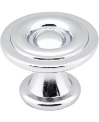 "Syracuse 1 3/16"" Diameter Modern Knob in Polished Chrome"