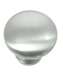 Steel Hollow Knob - Brushed Satin Nickel - 10 pc 1 3/8-Inch in Value Pack (54628)