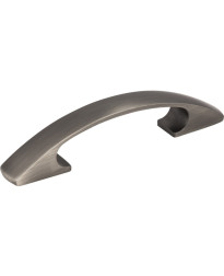 """Strickland 3"""" Centers Cabinet Pull in Brushed Pewter"""
