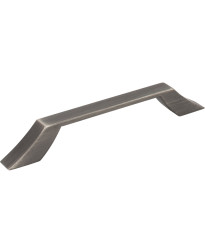 Royce 128mm Centers Cabinet Pull in Brushed Pewter