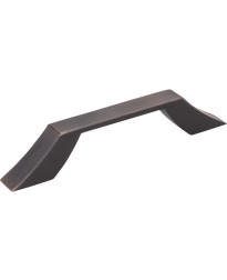 Royce 96mm Centers Cabinet Pull in Brushed Oil Rubbed Bronze