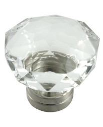 Kristal 55mm Knob in Polished Chrome