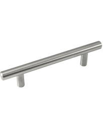 """Melrose Stainless Steel T-Bar Pull - 96mm - 5 3/4"""" Overall"""