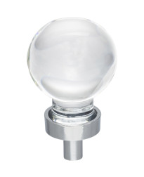 """Harlow 1-1/16""""  Diameter Cabinet Knob in Polished Chrome"""