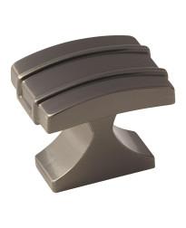Davenport 1-1/4 in (32 mm) Length Gunmetal Cabinet Knob