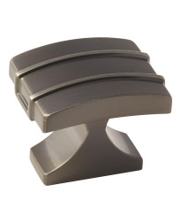 Davenport 1-1/2 in (38 mm) Length Gunmetal Cabinet Knob