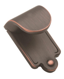 Inspirations 1-7/8 in (48 mm) Length Oil-Rubbed Bronze Cabinet Finger Pull