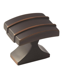 Davenport 1-1/4 in (32 mm) Length Oil-Rubbed Bronze Cabinet Knob