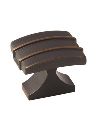 Davenport 1-1/2 in (38 mm) Length Oil-Rubbed Bronze Cabinet Knob