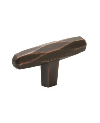 St. Vincent 2-1/2 in (64 mm) Length Oil-Rubbed Bronze Cabinet Knob