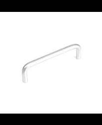 Builder's Choice D-Pull, Satin Chrome, 3 3/4 inches (96mm) cc