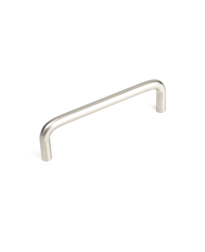 Builder's Choice D-Pull, Satin Nickel, 4 inches cc
