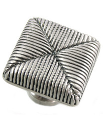 Seat Cushion Knob 1 3/8-Inch in Satin Antique Nickel