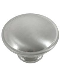 Georgetown Knob 1 1/4-Inch in Satin Chrome