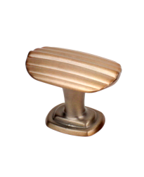 """Isis 1-1/2"""" T-Knob, Champagne Gold"""