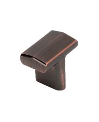 """L'attitude 1-7/16"""" T-Knob, Antique Bronze, Copper"""