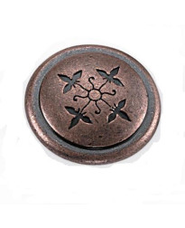 Cimarron Knob 1 1/4-Inch in Antique Copper