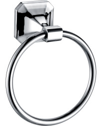 Valhalla Towel Ring in Chrome