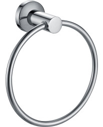 Nirvana Towel Ring in Polished Stainless Steel