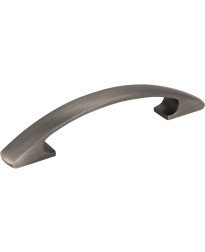 Strickland 96mm Centers Cabinet Pull in Brushed Pewter