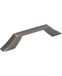 Royce 96mm Centers Cabinet Pull in Brushed Pewter