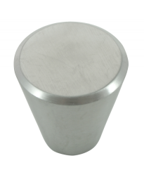 "Brickell Stainless Steel Cone Knob  - 1 1/4"" (89101)"