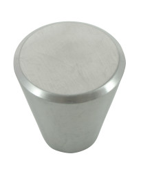 Melrose Stainless Steel Cone Knob  - 1 1/4""