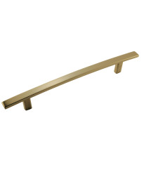 Cyprus 6-5/16 in (160 mm) Center-to-Center Golden Champagne Cabinet Pull