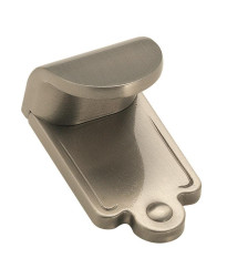 Inspirations 1-7/8 in (48 mm) Length Satin Nickel Cabinet Finger Pull