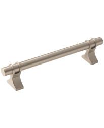 Davenport 5-1/16 in (128 mm) Center-to-Center Satin Nickel Cabinet Pull